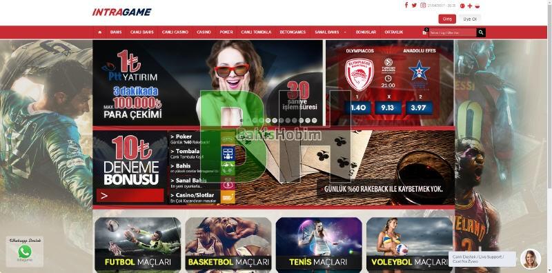 intragame bahis sitesi - İntragame Bahis Sitesi